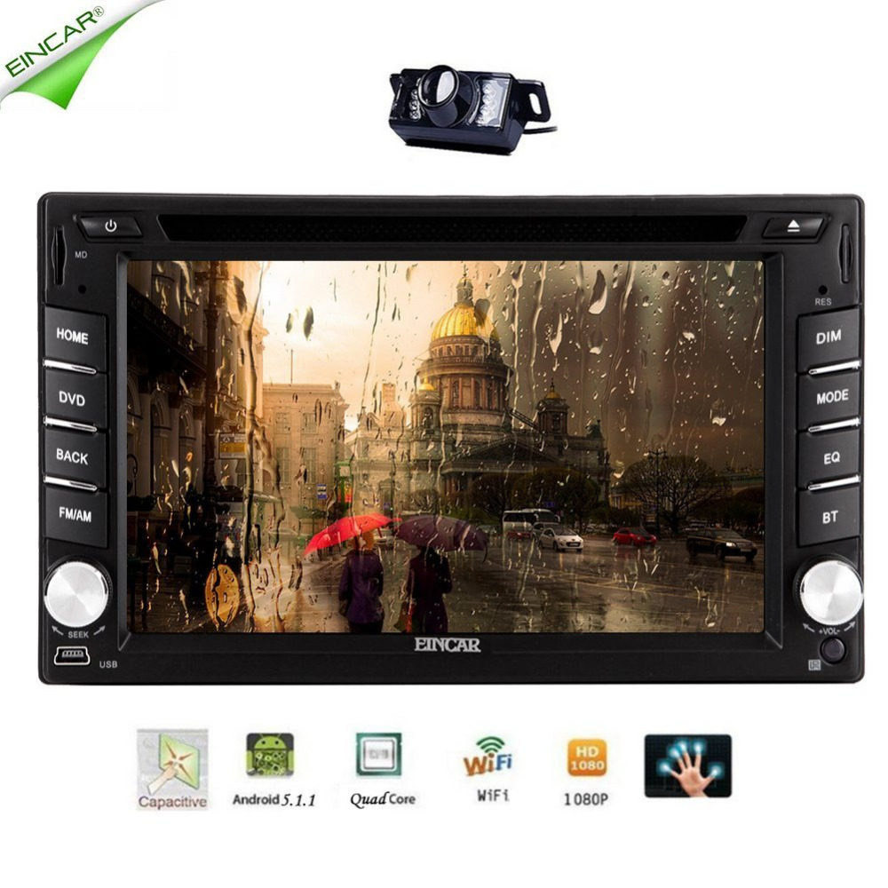 quad core autoradio 2 din android radio gps navigation car dvd player 2din steering wheel rear. Black Bedroom Furniture Sets. Home Design Ideas