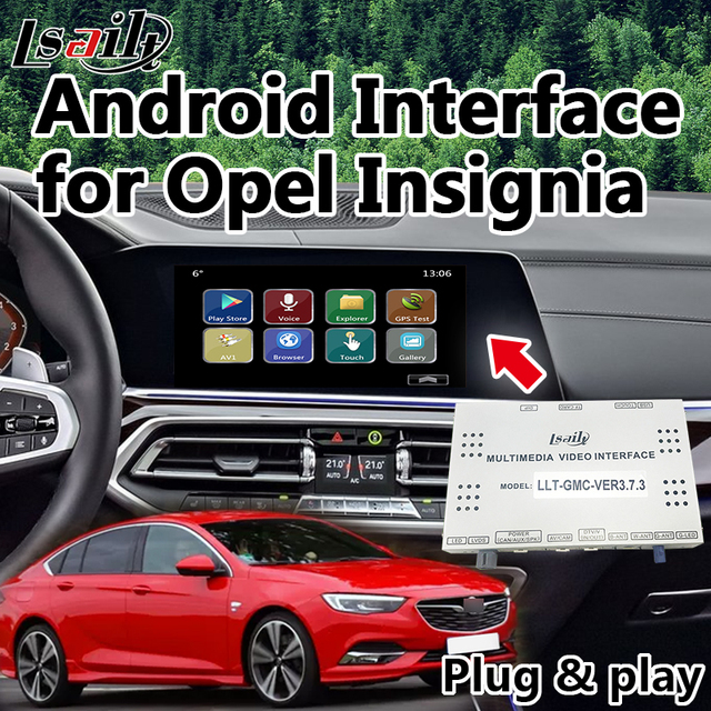 US $550 0 | Plug & Play Android GPS Navigation for Opel Crossland X Mokka  etc  Integration waze, Google Play , Yandex , Miracast WiFi-in Vehicle GPS