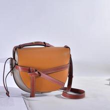High Quality Fashion Brand Designer Series Products  Leather Bag Skewed Crossing  Bag