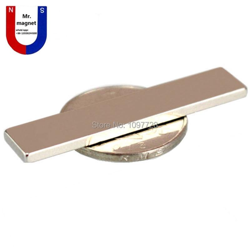 Energisch 50 Stücke 50x10x2,5mm Starke Neo Neodym Magnet 50x10x2,5 50mm X 10mm X 2,5mm Magneten 50mm X 10mm X 2,5mm Ndfeb Magnet 50*10*2,5mm