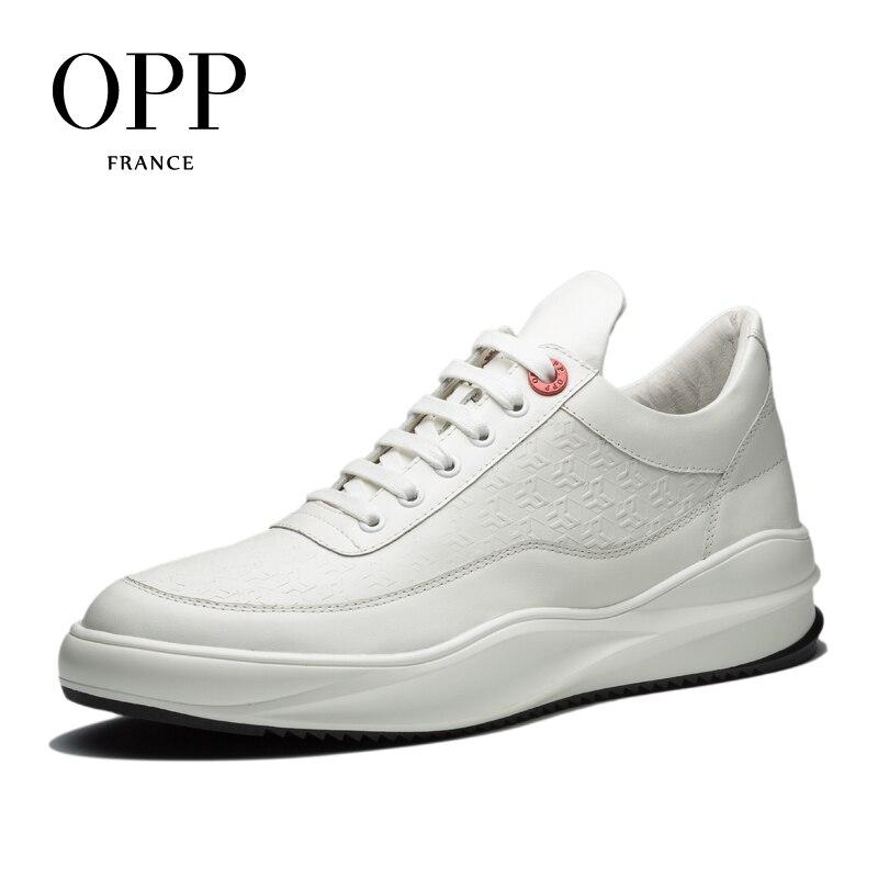 Cuir À Pour En Croissante Chaussures blanc 2017 Hauteur Vache Black Lacets De Hommes Opp Casual Appartements Mocassins qAxwUYOA8
