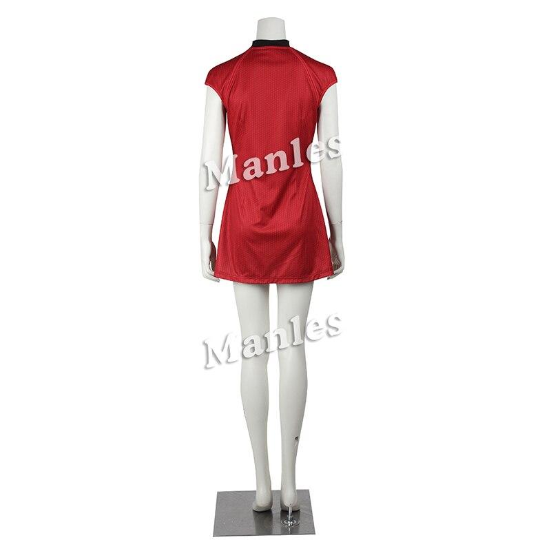 aliexpresscom buy star trek cosplay costume nyota uhura cosplay clothing women sexy red dress uniform for halloween christmas party custom made from - Uhura Halloween Costume