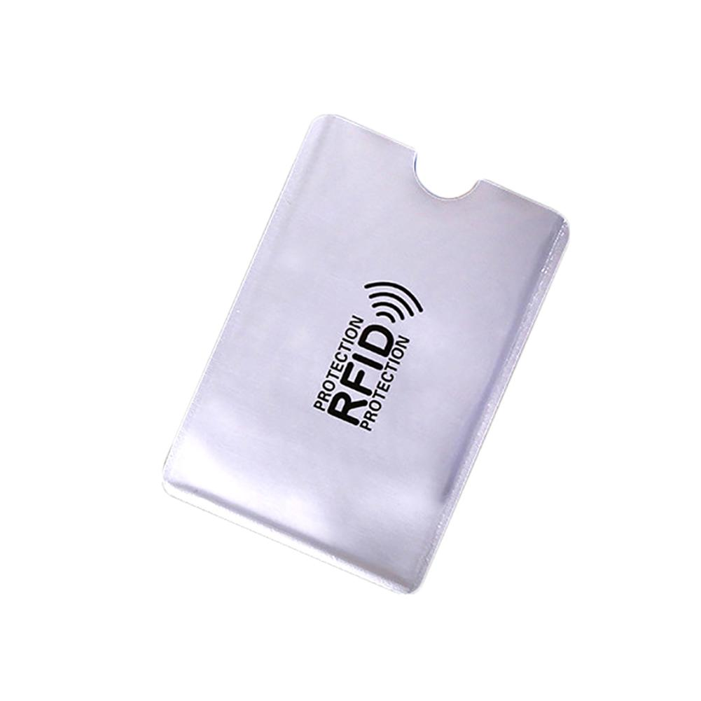 10Pcs Portable Anti-Scan Credit RFID Card Protective Anti-Magnetic Holder Bag
