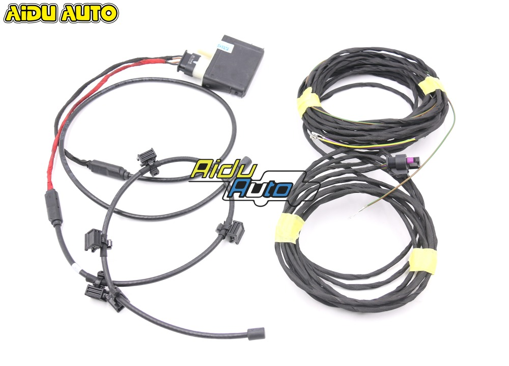 Trunk Auto Easy Open System Foot Sensor Wire For VW Passat B8 3GD 962 243