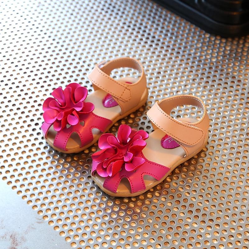 Girls Summer Princess Flower Sandals 1