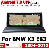 "hd מסך 10.25"" סטריאו מסך HD אנדרואיד 7.0 עד לרכב GPS Navi מפה BMW X3 E83 2004 ~ 2010 מקורי סגנון מולטימדיה נגן רדיו אוטומטי (1)"