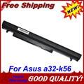 JIGU Laptop battery A31-K56 A32-K56 A41-K56 A42-K56 For Asus K56 A46C K46V A56C A56V E46 E46C K46C K56V R405V S405C S40C S46C