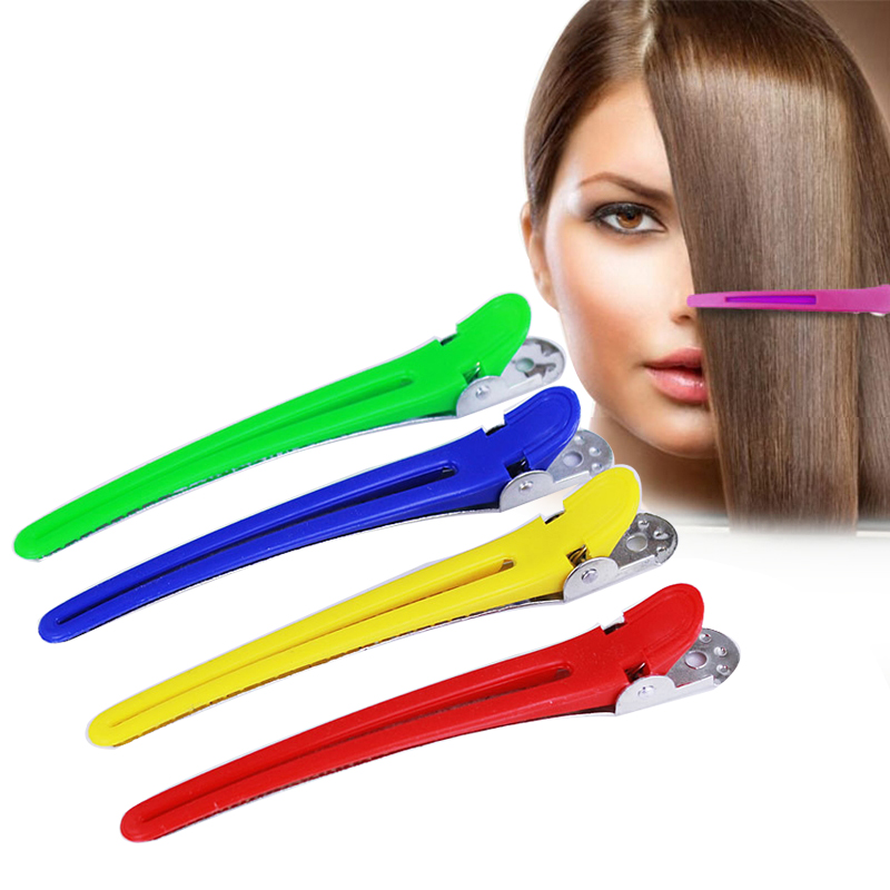 Coloured Hairdresser Hair Claw Clips Clamps Grips Hair Accessories Salon