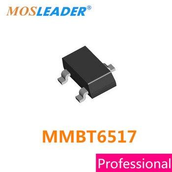 Mosleader MMBT6517 SOT23 3000PCS MMBT6517LT1G TO-236AB 350V 0.1A 100mA NPN MMBT6517LT1 High quality