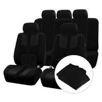 Universal Sturdy Auto Car Seat Covers for Passat B5 B6 B7 Polo 4 5 6 7 Golf Tiguan Car Cushion Accessories