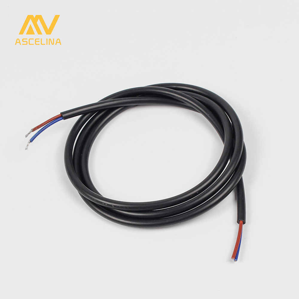 small resolution of wire electrical cable diy 1 2m copper core insulated extension cord silicone cable for pendant light
