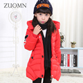 Kids Winter Outerwear Girl Down Jackets Children Keep Warm Winter Jackets For Girls Coats Cotton Clothes Parkas Clothing YL51