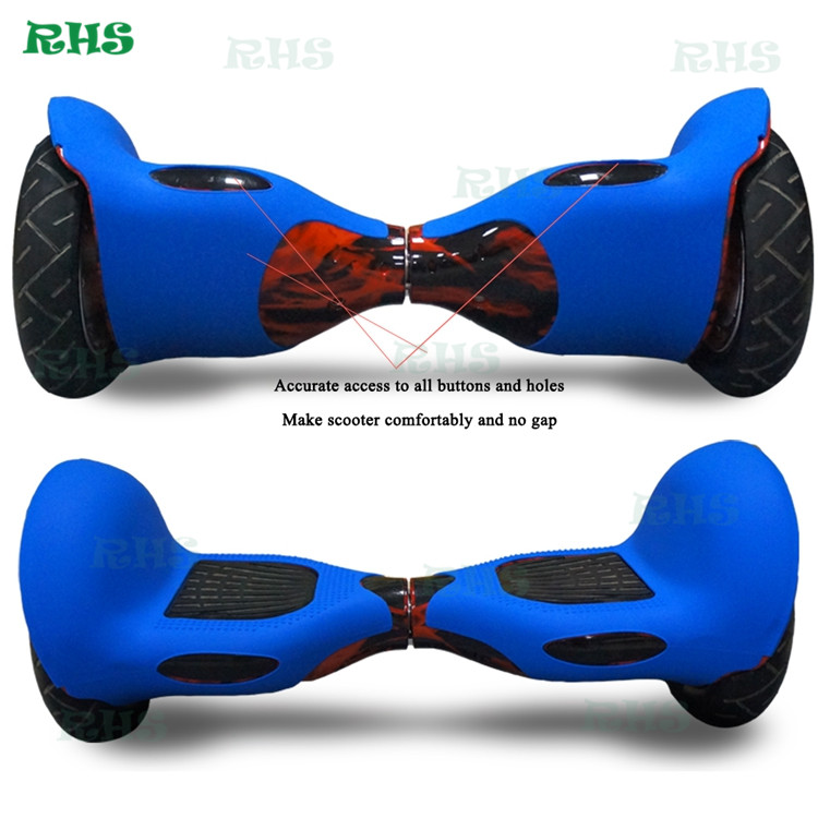 10inch Hover board 2 wheels scooter silicone case/cover/wrap/sleeve/skin wholesale price with high quality in stock