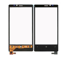 1 Piece 100% Original New Touch Screen For Nokia Lumia 920 N920 Touch Screen Digitizer Replacement Black Color Free Shipping