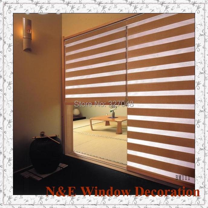 Free Shipping Blackout Window Blinds Zebra Roller Blinds
