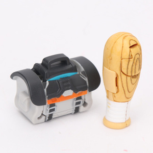 Image 2 - 5 개/대 트랜스 포머 완구 Botbots 완구 시리즈 1 Bumblebee Optimus prime Megatron 액션 피규어 미스터리 2 in 1 Collectible Model