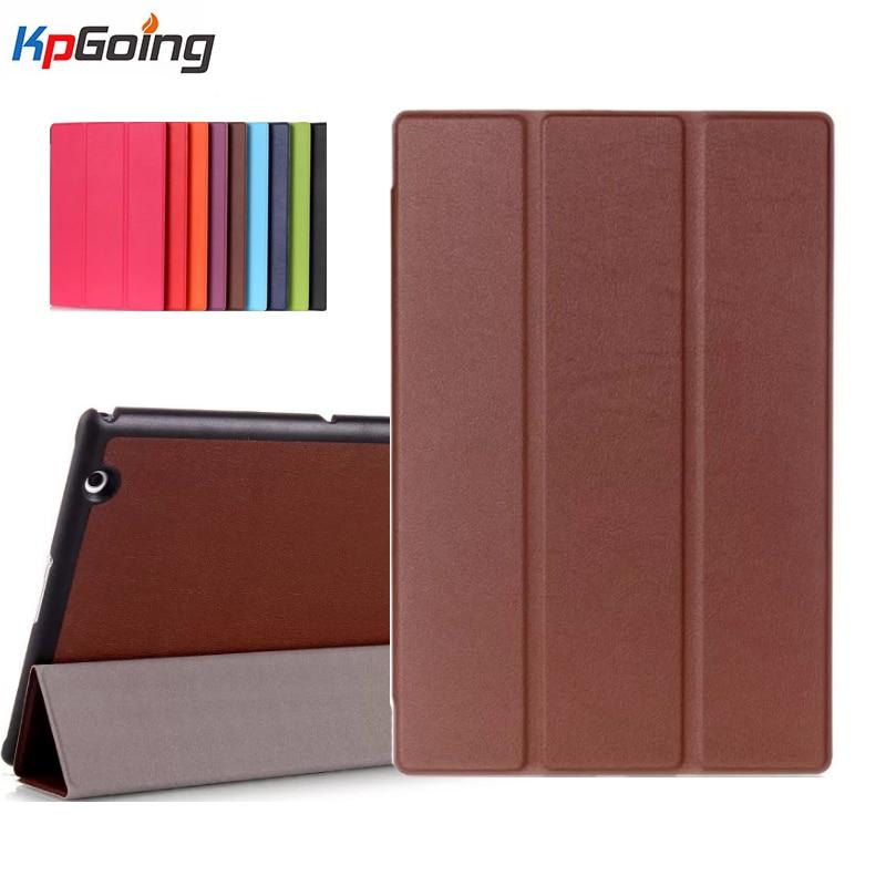 For Sony Xperia Z4 Tablet Ultra Case Slim 3 Folding Cover Case for Sony Xperia Z4 Tablet Ultra 10.1 Inch Tablet Cover Fundas планшет sony xperia z4 tablet wifi 4g lte