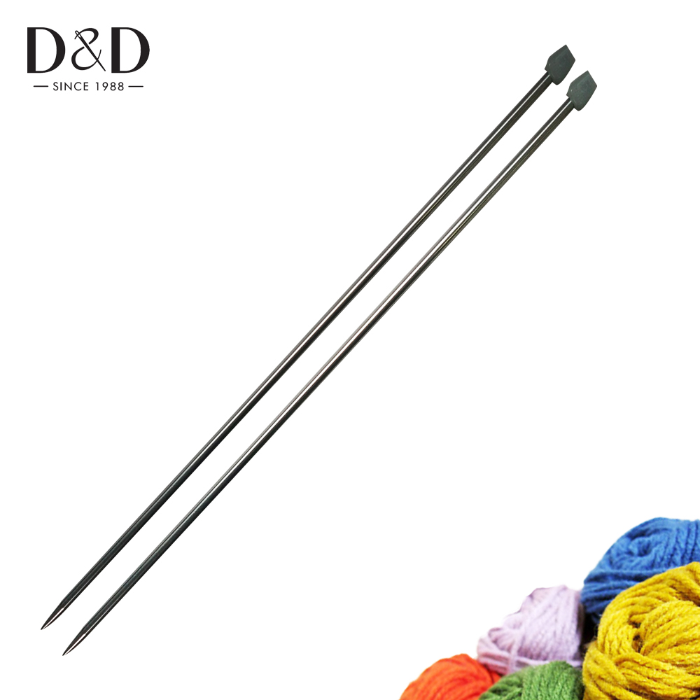 14 Inches 5mm Knitting Needles Knit Weave Craft Yarn Sewing Tools Smooth HIGH Quality