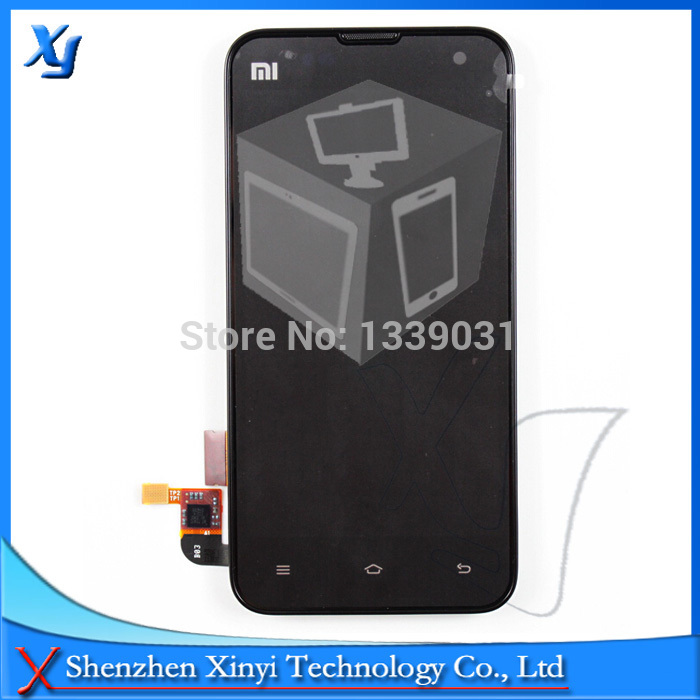 Free Shipping Brand New Original For Xiaomi 2S M2 M2s Mi2 Mi2s LCD Display + touch Screen + Frame Digitizer Assembly 100% tested brand new original for 2 2 inch ls022q8ud04 display