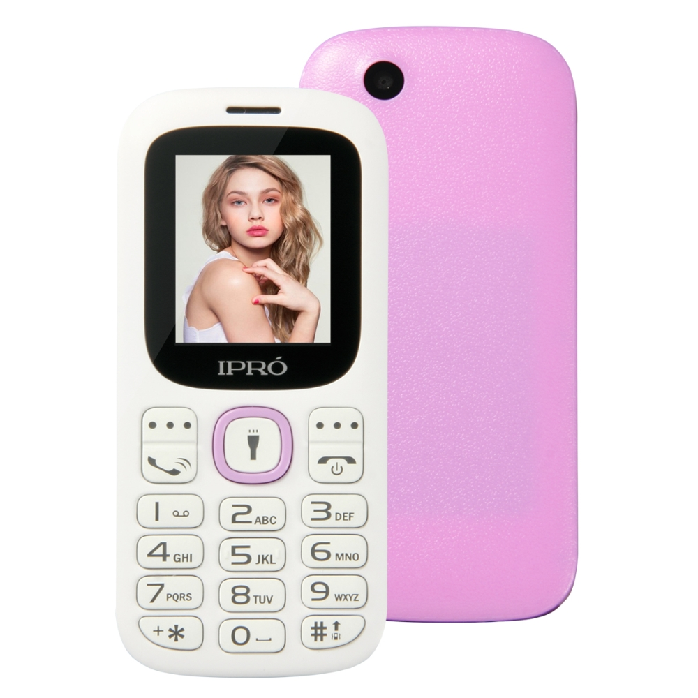 Original New IPRO I3185 Unlocked Mobile Phone SC6531DA 1 77 Inch English Spanish Portuguese Russian 2G