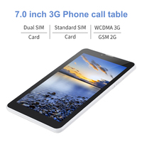 7 android 4 2016 Cheap-Sale 3G Phablet Aoson M707T 7 inch Dual Core MTK8312 Dual Cameras TN Screen Phone Call GPS Bluetooth Android 4.4 MID (3)