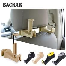 BACKAR Universal Back Seat Car Holder Mobile Phone Frame Accessories For Opel insignia vectra c Subaru Audi B7 B5 B6 C5 C6 Q5 Q7