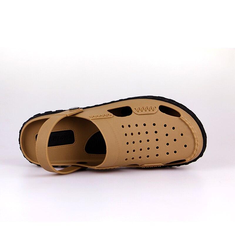 ENTU Men Fashion Sandals Summer Mens Slippers Beach Casual Breathable Home Slippers Men Shoes Zapatos sandalias para hombre