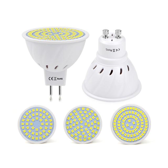 10 stks gu10 mr16 led lampada hittebestendige brandwerende shell spotlight lamp ac220v 230 v 240 v