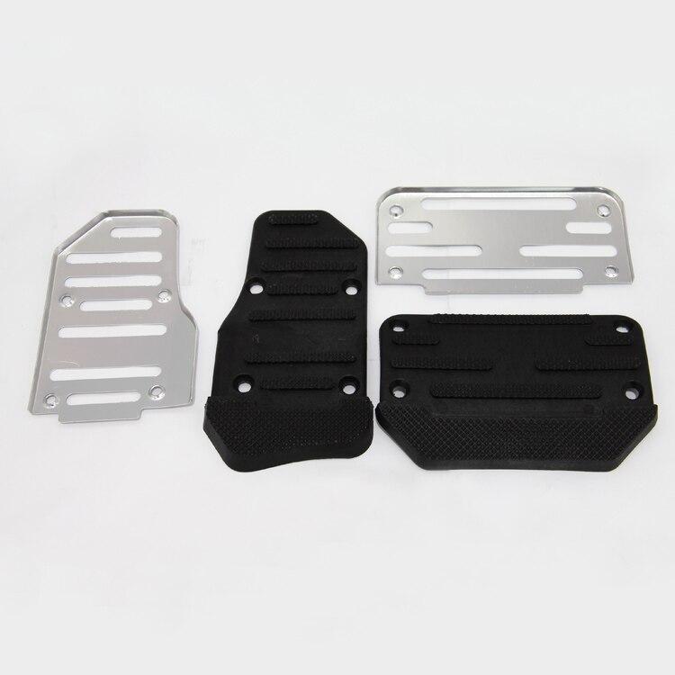 Non-Slip Automatic Car Truck MT Manual Brake Accelerator Pedal Pad Cover Set