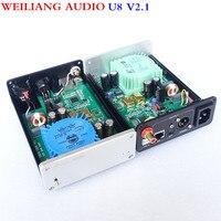 WEILIANG AUDIO Breeze audio Best pure USB decoder XMOS XU208 =DU U8 DAC Asynchronous USB coax + fiber XMOS Ultimate Edition DSD