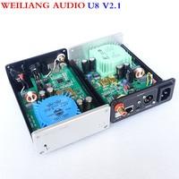 Breeze Audio Best Pure USB Decoder XMOS U8 DU U8 DAC Asynchronous USB Coax Fiber XMOS