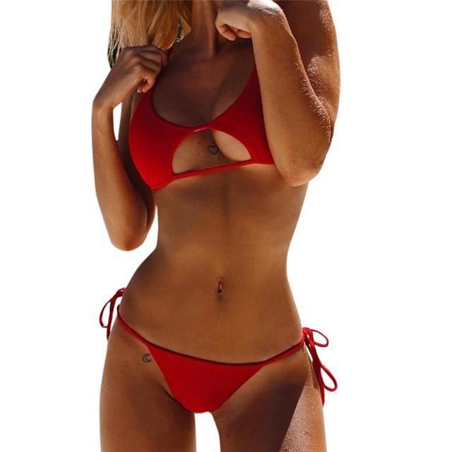 Push-Up Padded Bra Bikini Swimsuit for Women