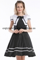 free shipping Hot Selling Women Vintage 1950s Sleeveless Rockabilly Dresses Sexy Party Dresses