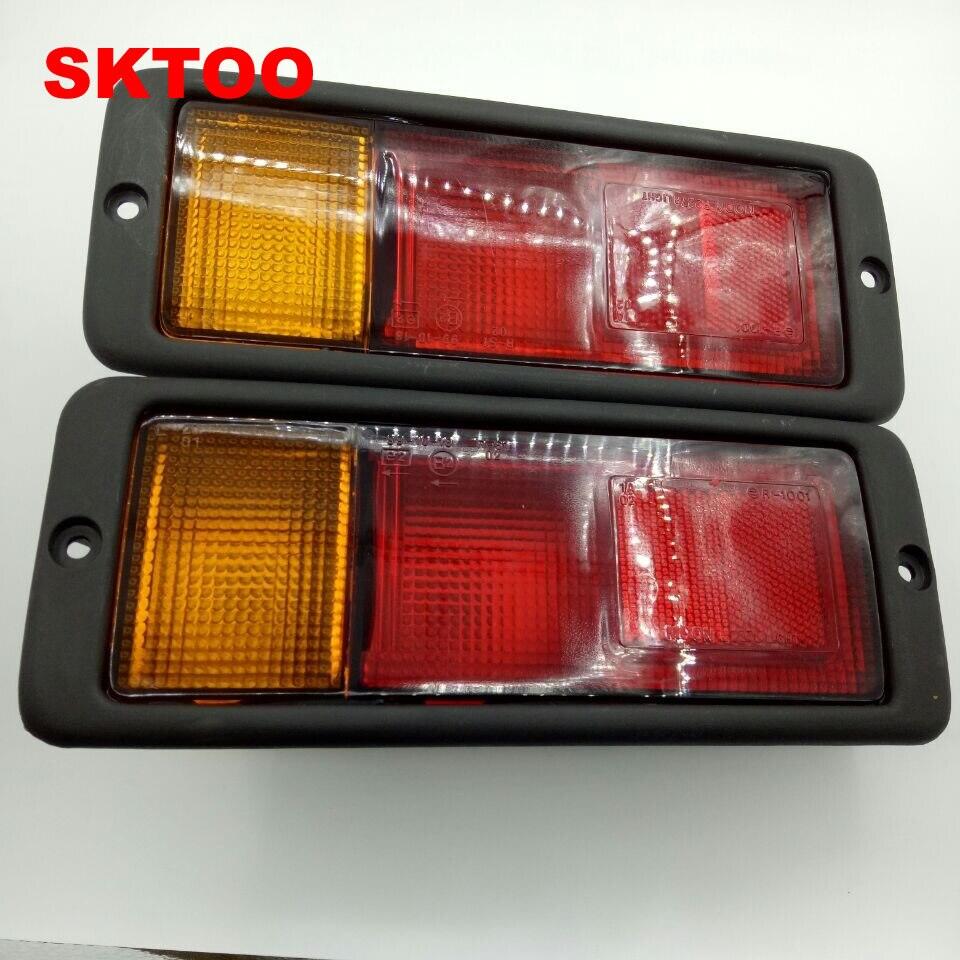 SKTOO une paire de feux de Bar arrière gauche et droite antibrouillard pour Mitsubishi Pajero Monteiro V31 V32 V33 V43