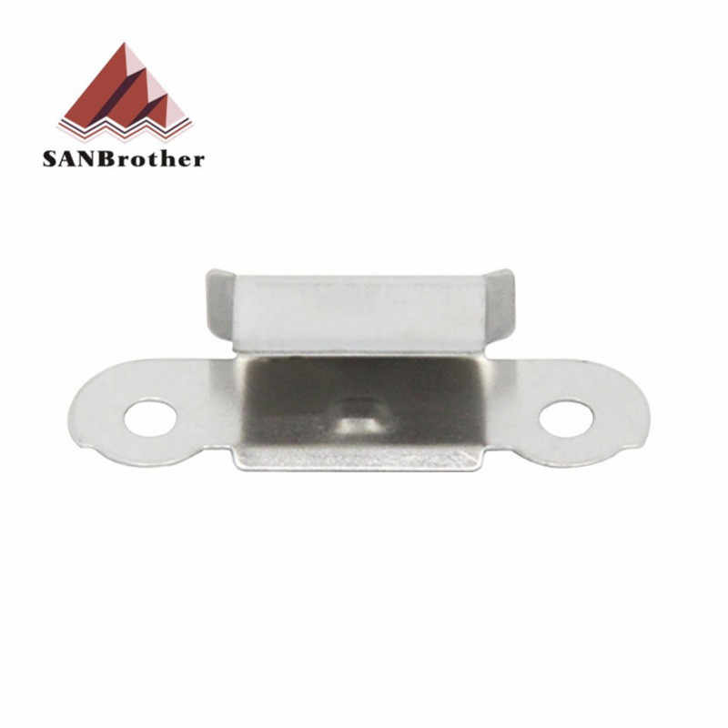 4 sztuk/partia UM2 + szkło ze stali nierdzewnej podgrzewany łóżko klip drukarki 3D część dla UM3 UM2 budować platformy szkła uchwyt zacisk akcesoria
