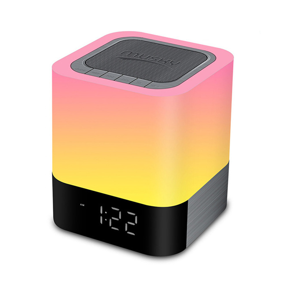 LED Night Lights Bluetooth Speaker Touch Sensor Color Changing Bedside Lamp White Light Music Player Wireless Speaker Lamp led touch color change night light motion sensor bedside lamp bluetooth speaker touch control support mobile phone app control