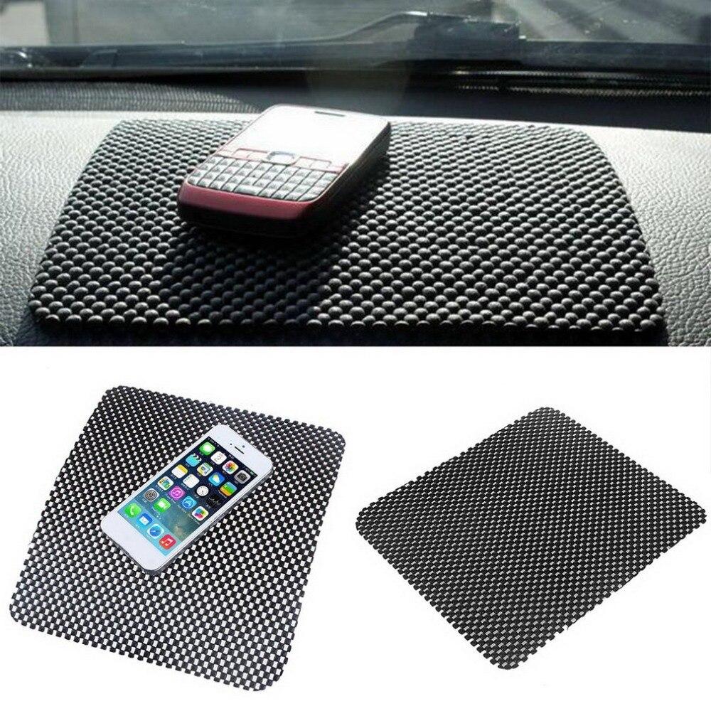 Приборной панели автомобиля Pad Коврики Анти Нескользящие гаджет мобильный телефон GPS держатель предметы интерьера автомобиля Интимные акс…