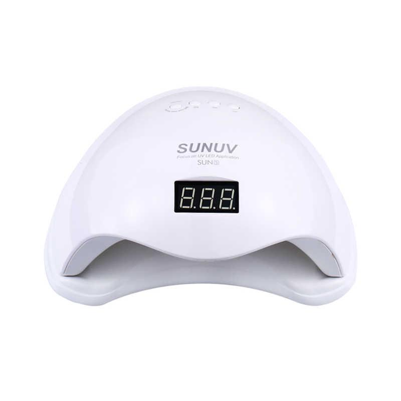 Fast Dry 48W UV Lamp LED Nail Lamp Nail Dryer Half Round