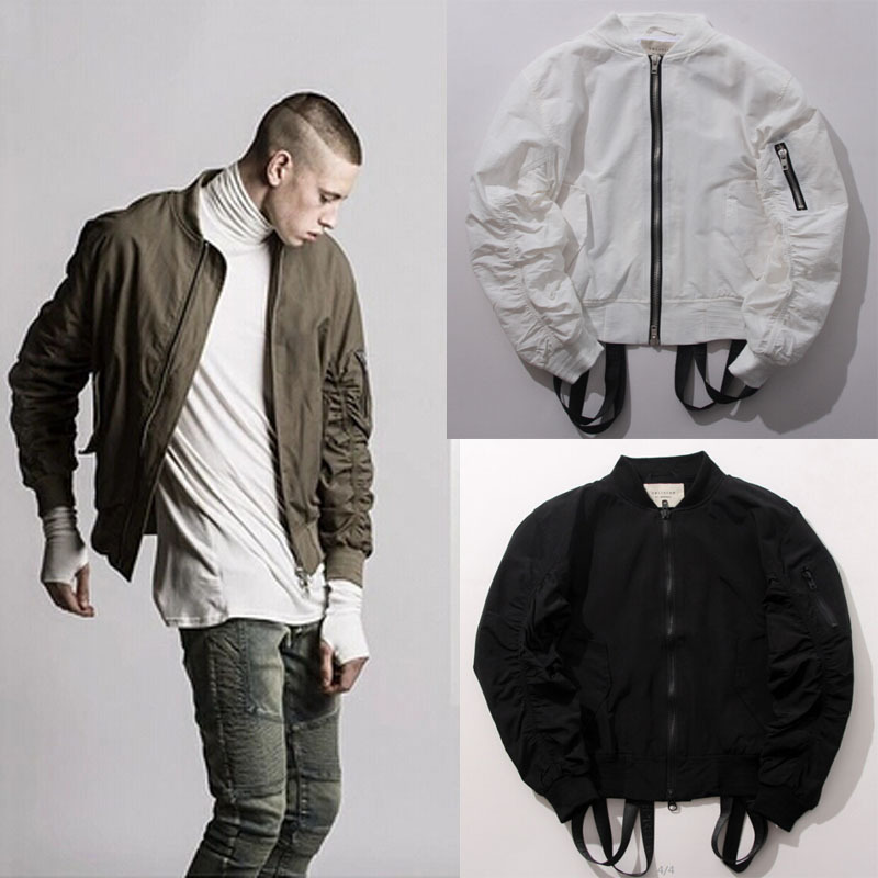 High fashion hiphop famous brand designer olive green/white/black ...