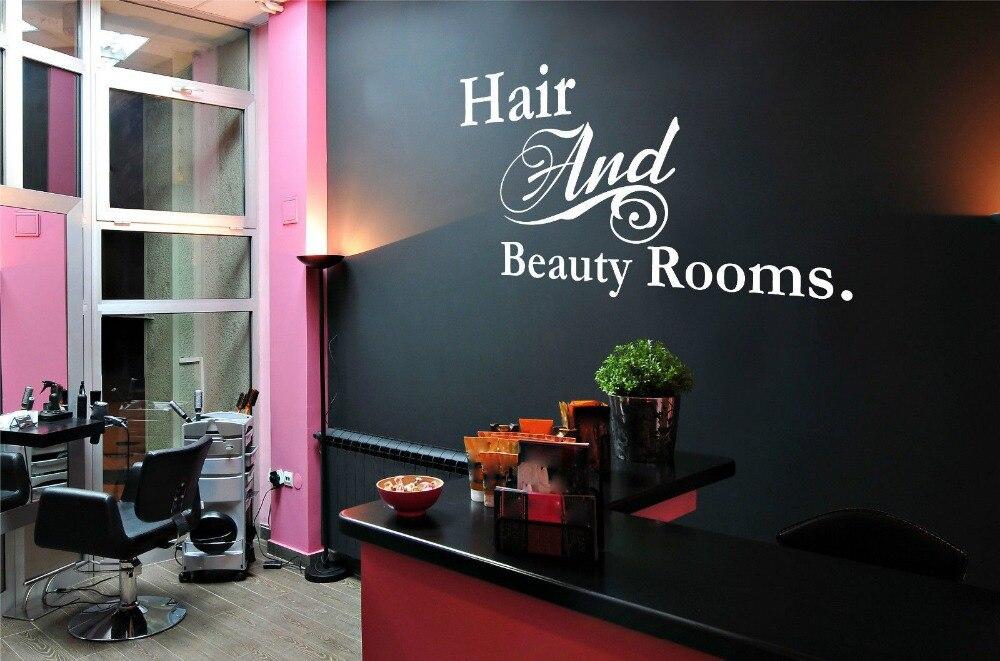 Beauty shop logos promotion shop for promotional beauty shop logos on aliexpr - Decoration mural salon ...