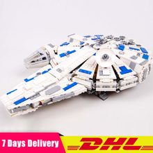 Lepin 05142 New Toys 1584Pcs Star Plan Series The 75212 Kessel Run Millennuim Falcon Set Building Blocks Bricks Kids Toys Gifts