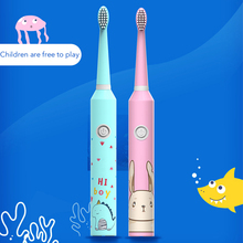Sonic Electric toothbrush Deeply Cleansing Tooth Brush AA Battery IPX7 Waterproof 3 Gear Adjustment Kids Toothbrush