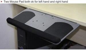 Image 3 - LK06A人間工学スライド傾斜xlサイズリストレストとキーボードホルダーつのマウスパッドデスクキーボードトレイスタンド
