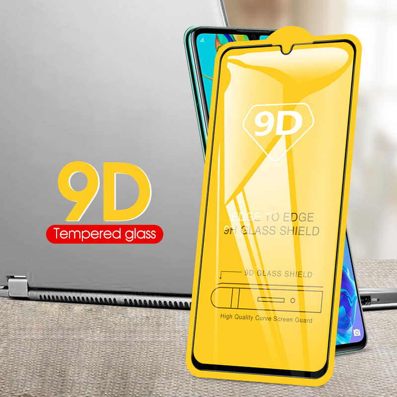 9D Curved Full Glue Tempered Glass For Huawei Honor 8X 10 9 Lite P20 Pro Mate 20 P30 Lite Cover Glass P10 Lite Screen Protector