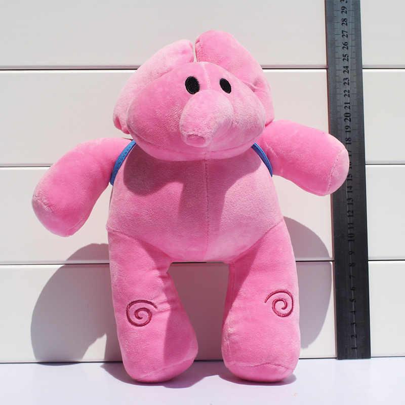 1 pcs Pato Pato Pocoyo Elly Elefante de Brinquedo De Pelúcia Bichos de pelúcia Brinquedos de Pelúcia Boneca Grande Presente 19 cm/25 cm/27 cm