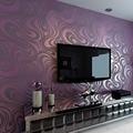 Современный абстрактный Роскошные 3D стены Бумага ролл Фреска стекаются Curve полосатый нетканые ТВ диван Задний план стены Бумага для стен фи...