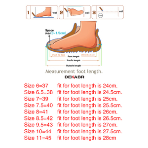 Image 5 - DEKABR 2021 New Arrival Fashion Summer Genuine Leather Beach Men Shoes High Quality Leather Flip Flop Mens Sandals Size 38 45