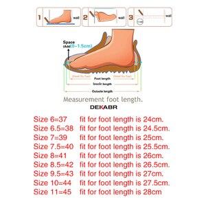 Image 5 - DEKABR 2021 nuovo arrivo moda estate vera pelle da spiaggia scarpe da uomo in pelle di alta qualità infradito sandali da uomo taglia 38 45