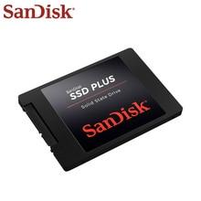 Sandisk PLUS SSD 480 GB 120 GB Внутренний твердотельный диск жёстким диском на 240 ГБ SATA3 2,5 для ноутбуков настольных ПК