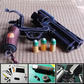 Paper Model Gun Hellboy Revolver With Bullets Simulation 1:1 Scale Firearm Magazine Adult 3D Puzzles Toy Free Shipping